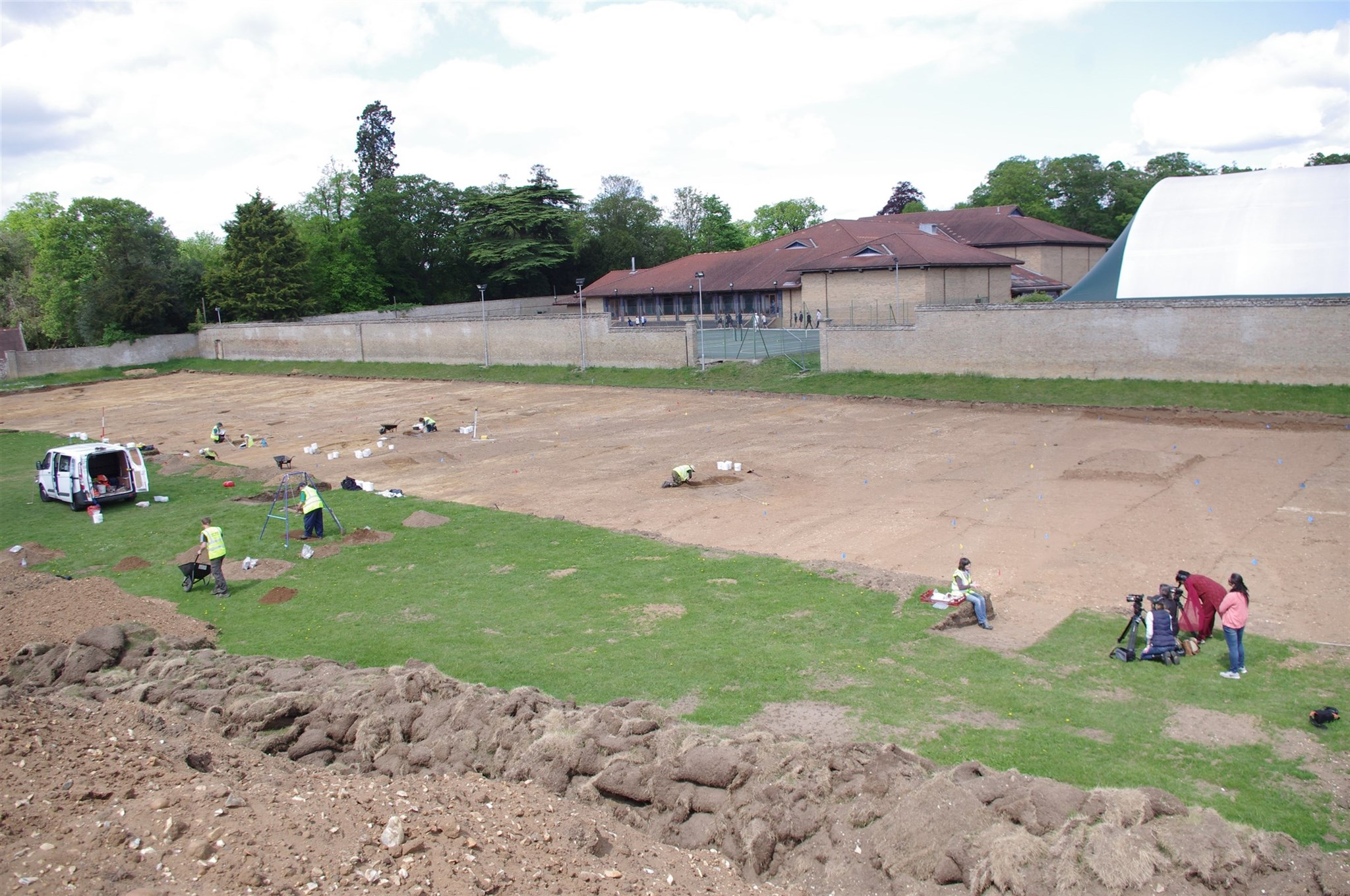 Excavation of an early Anglo-Saxon settlement at Culford