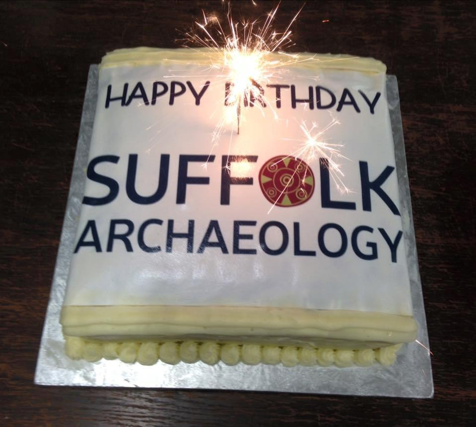 Suffolk Archaeology's 1st birthday and launch of our Report Library