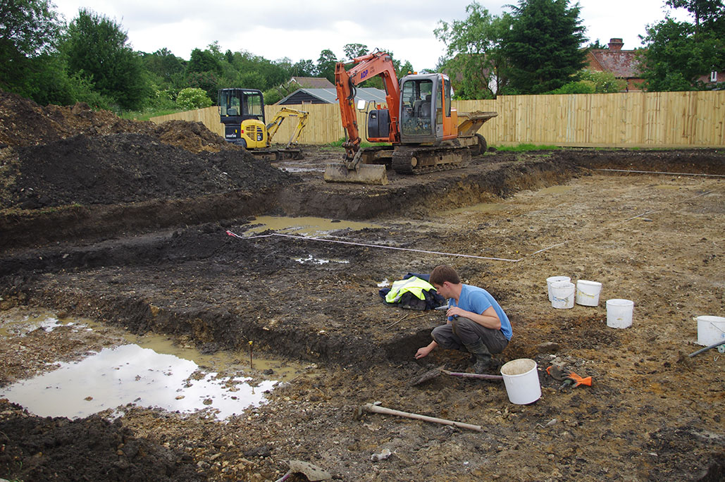 Excavation at Poslingford, Suffolk