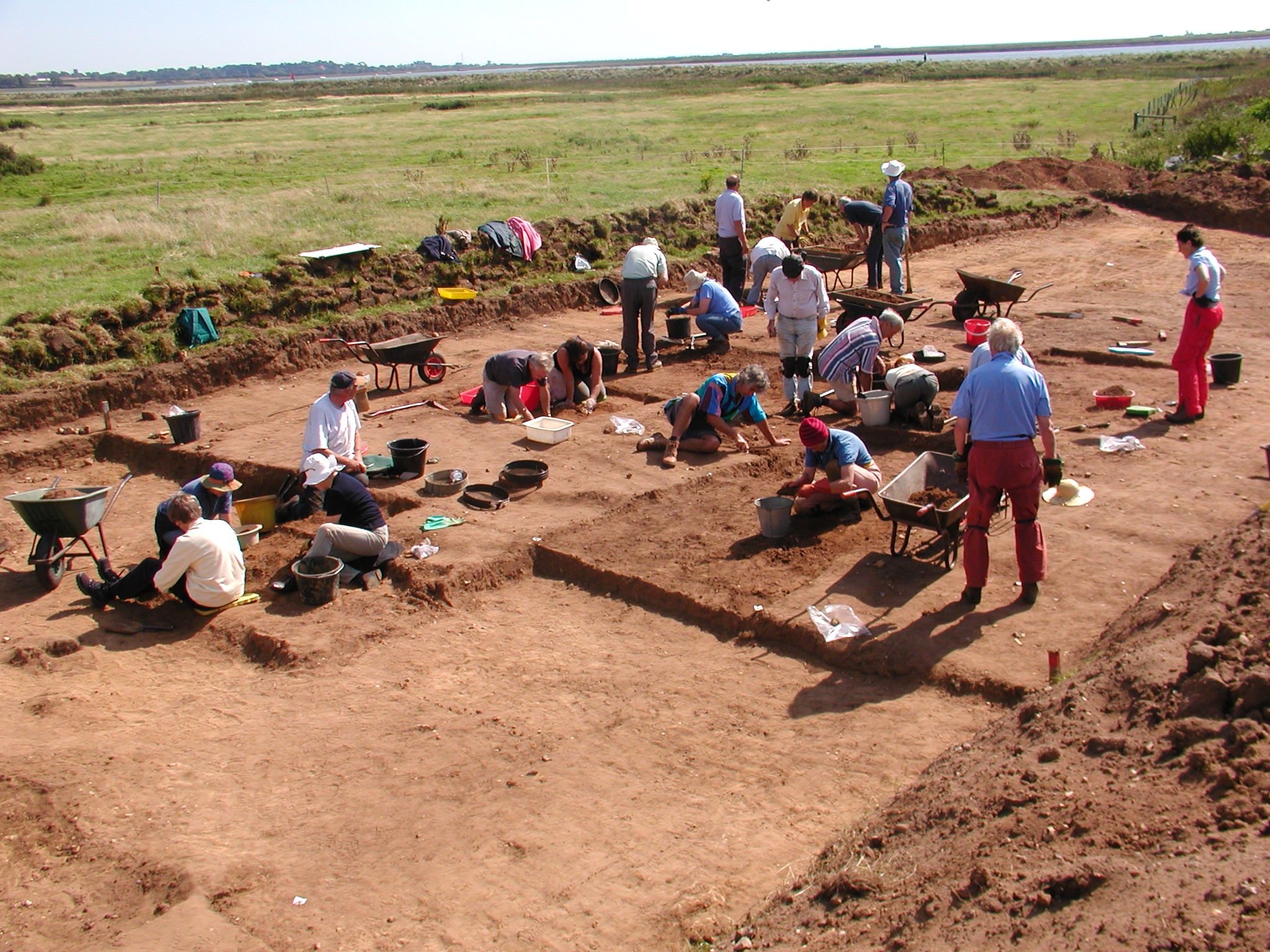 The community excavation at Barber's Point, Friston