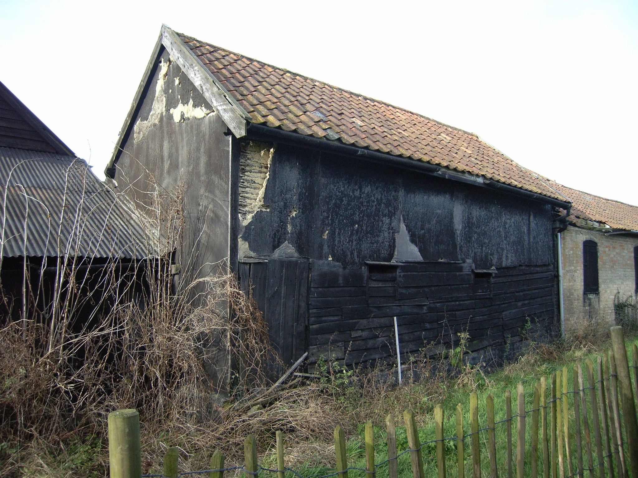 Exterior of the South Barn, Lodge Farm, Wyverstone, Suffolk
