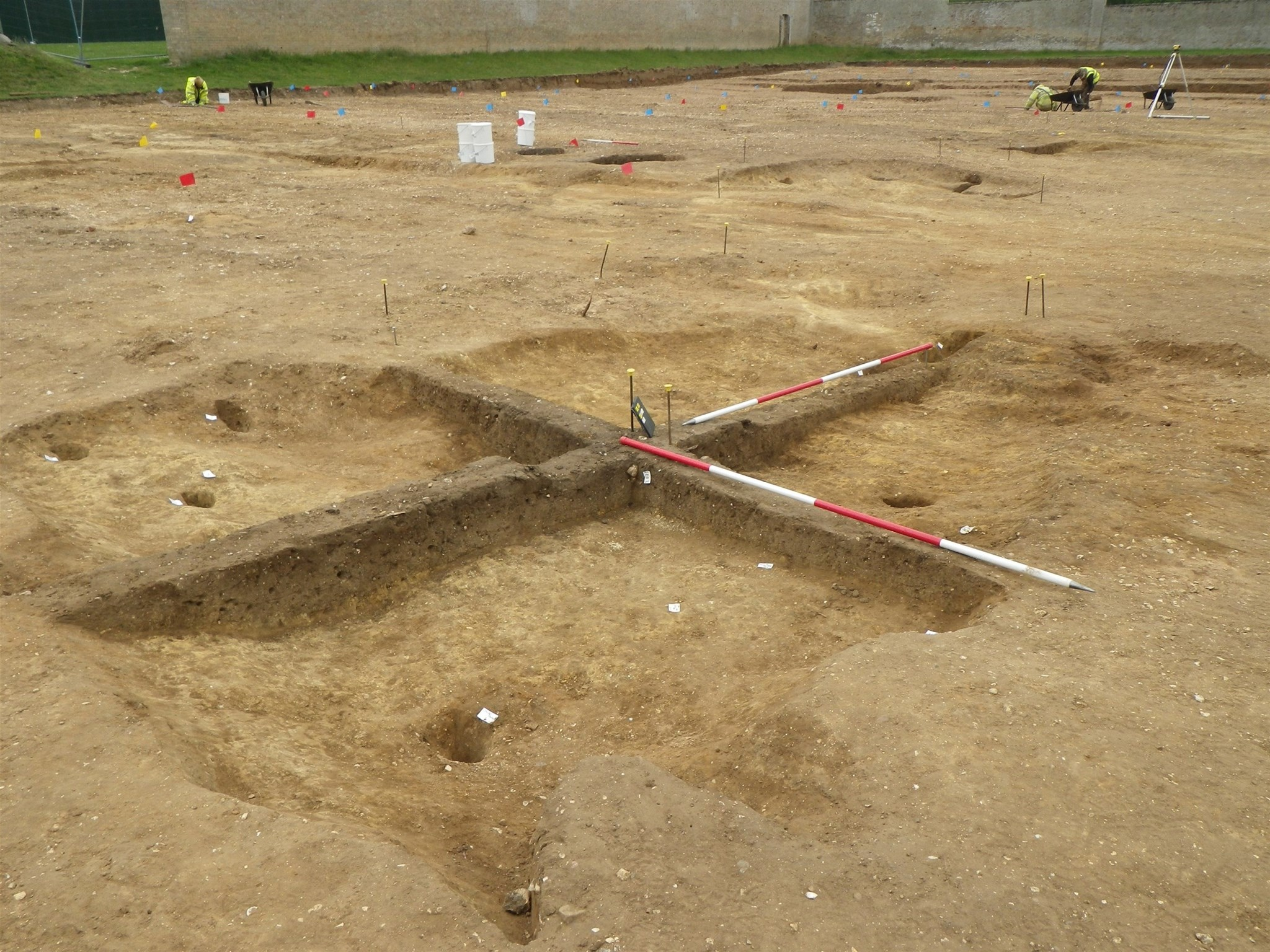 A fully excavated SFB at Culford