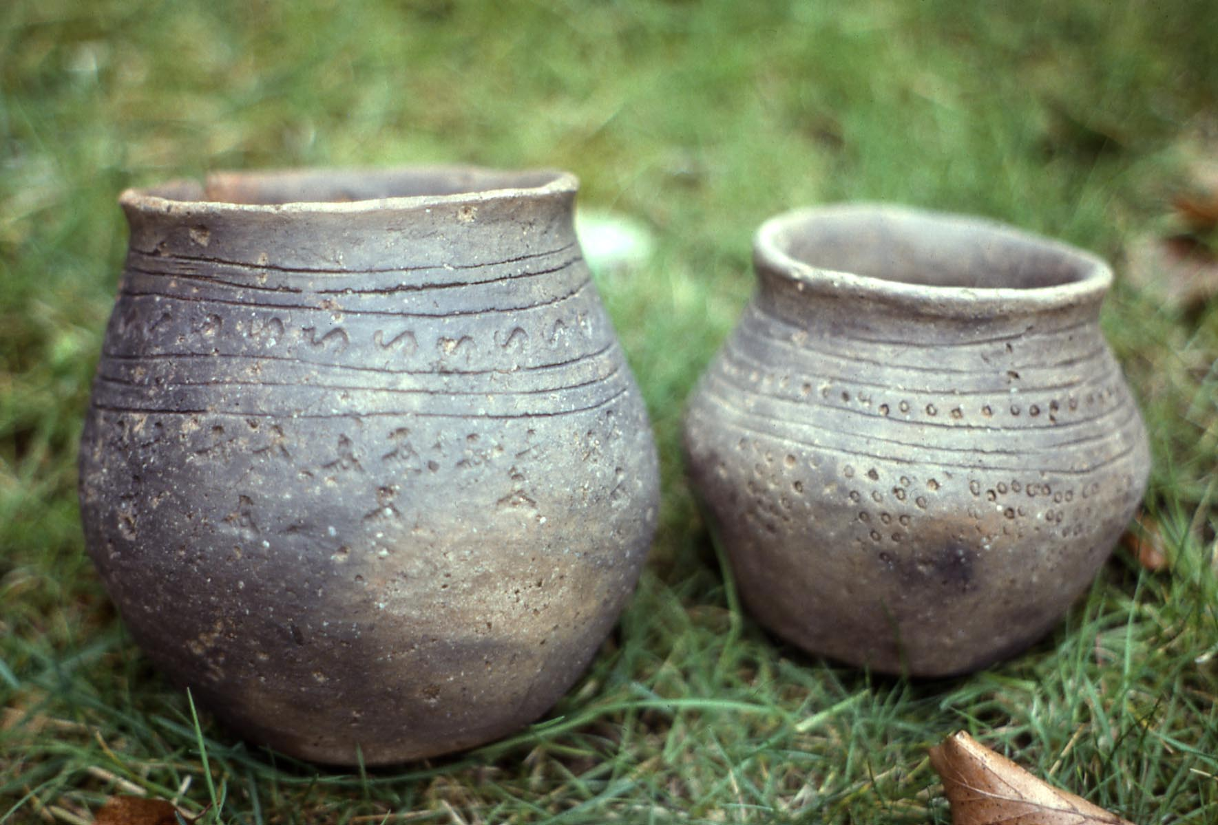Anglo-Saxon pottery from RAF Lakenheath, Suffolk