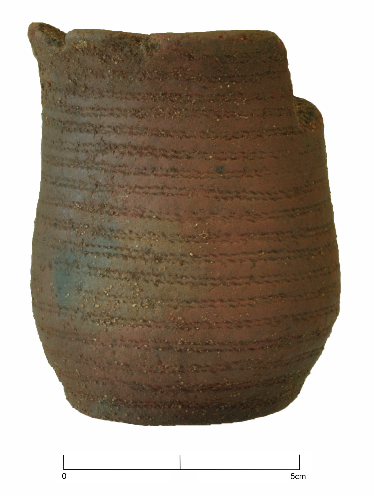 Small Beaker pot of East Anglian style, later Neolithic to earlier Bronze Age (c.2400-1700BC)