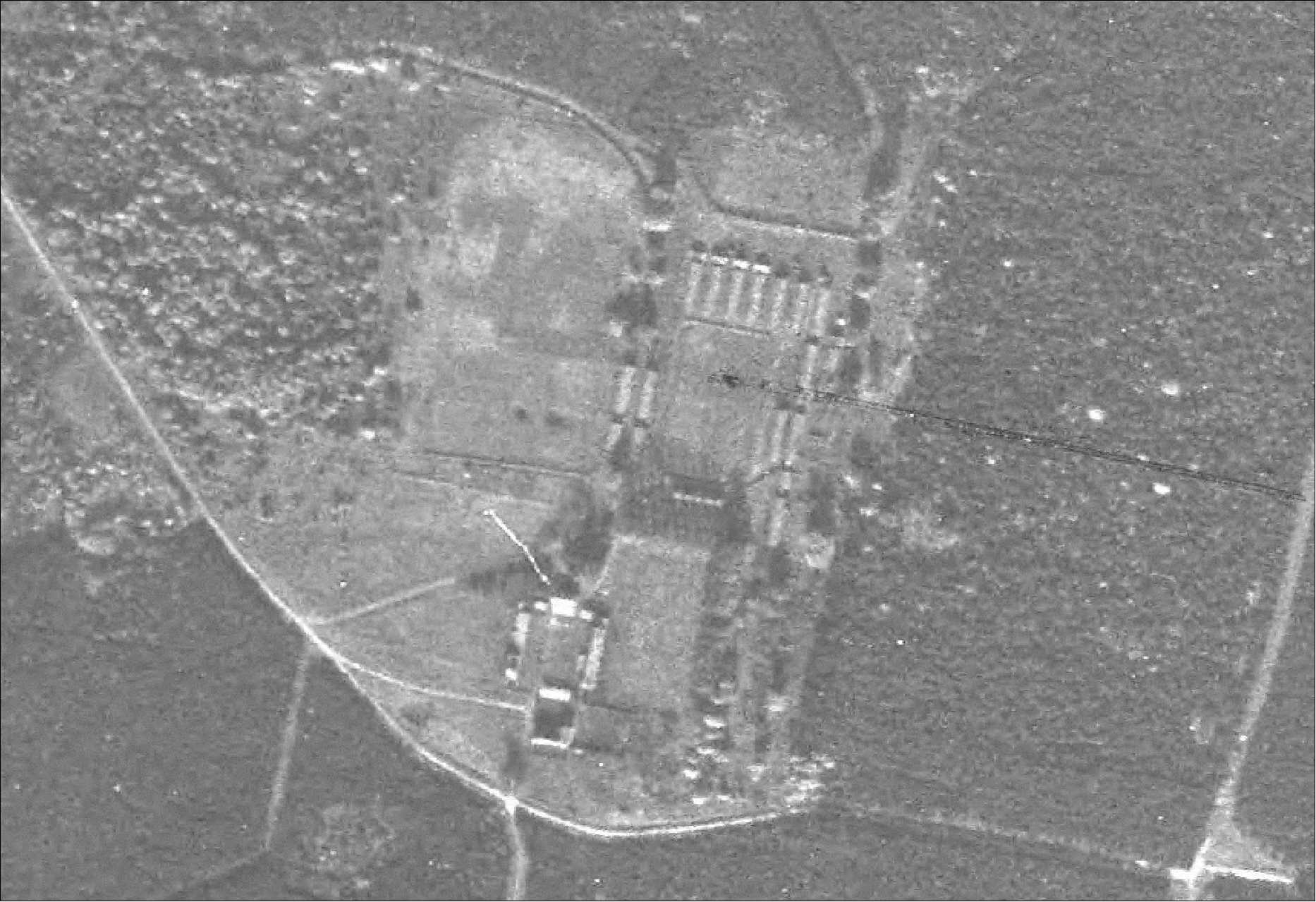 RAF aerial photograph of High Lodge in 1946