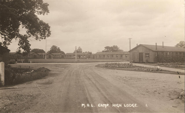 Ministry of Labour camp at High Lodge - 1930s postcard