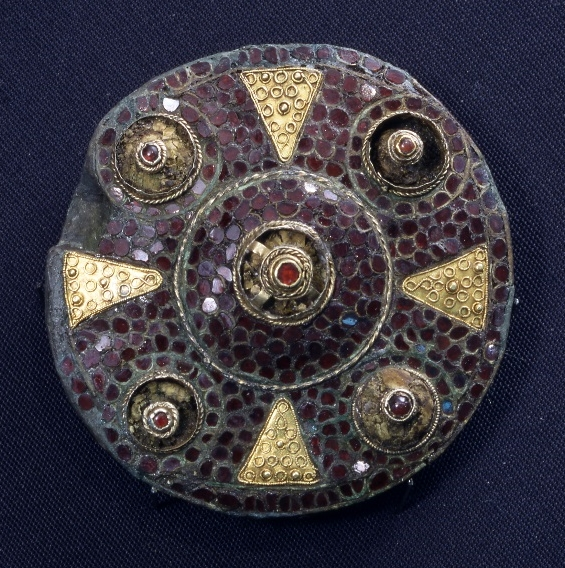 The Boss Hall brooch. Photograph by Doug Atfield, © Ipswich Borough Council