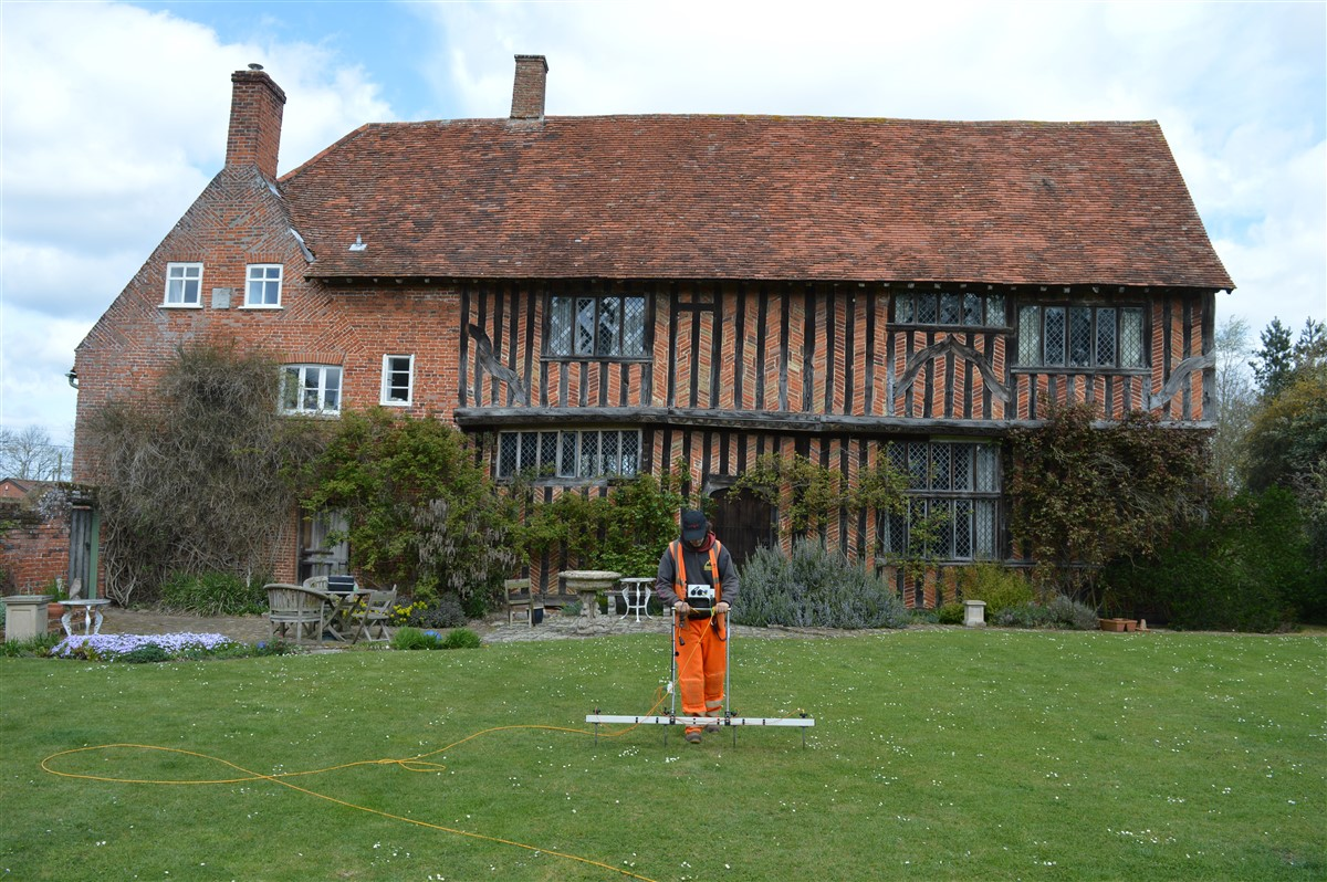Earth Resistivity at Abbey, Farm, Hoxne